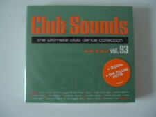 Club Sounds Vol. 93 - The Ultimate Club Dance Collection, Neu OVP, 3 CDs, 2020