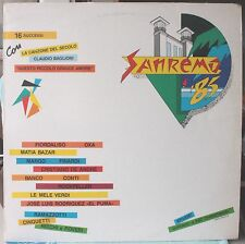 SANREMO 85 - ARTISTI VARI - VINILE LP