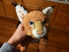 "Bass Pro Shops Realistic Wildlife Artists BOBCAT Stuffed Animal Plush 16"""