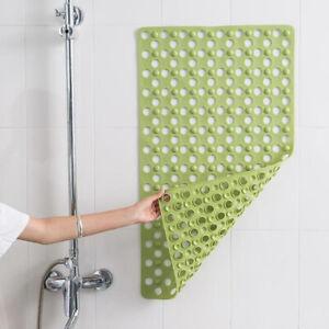 Anti Non Slip Bath Shower Mat PVC Bathroom Mat Suction cups