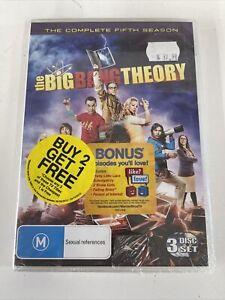 The Big Bang Theory : Season 5 (DVD, 2012) PAL Region 4 Like New