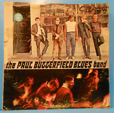 PAUL BUTTERFIELD BLUES BAND SELF LP 1965 ORIGINAL STEREO NICE COND! VG/G+!!