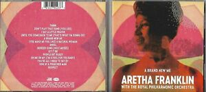 CD 14T A BRAND NEW ME ARETHA FRANKLIN WITH THE ROYAL PHILHARMONIC ORCHESTRA 2017