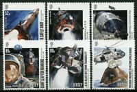 Jersey 2019 MNH Apollo 11 Moon Landing 50th Anniv 6v Set Space Stamps