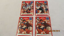 1991 NRL Cards x 4