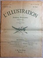 L'illustration magazine 12 Dec 1914 Collectible WW1 Franco-British Alliance