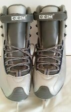 Women's Ccm Sp Figure Skating Ice Skates Gray Size 7