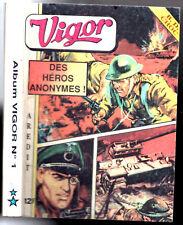 ALBUM VIGOR n°1 ~+~ avec n°255-262 ET VIGOR SPECIAL n°5 ~+~ AREDIT