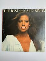 Carly Simon: The Best of Carly Simon Vinyl Record LP Not Graded