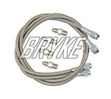 """Go kart Brake line kit Steel Braided Go-kart brakeline 30"""" Racing Kart cart"""