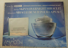 Avon Anew Clinical Overnight Hydration Mask SAMPLES (5) Sealed NEW FREE SHIPPING
