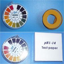 5M Rouleau Papier PH 0-14 Bandelette Test Testeur Indicateur Mesure Acidité Eau