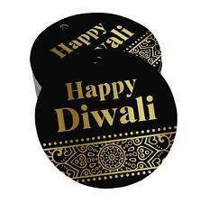 Happy Diwali Paper Tags Craft Foil Hang Tags-DW-SH2_20BG