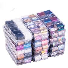 10 Blätter Nagelaufkleber Nagelfolien Nail Foils Decals Stickers Nagel mit Box