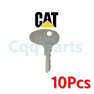 10pcs For Caterpillar Forklift Ignition Key 12343 Mitsubishi kubota 912-0514920