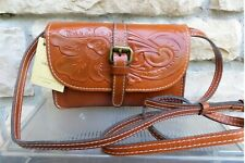 New Listing Patricia Nash Nwt Torri Crossbody Bag Tooled Leather-Florence Msrp $129