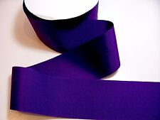 Wide Purple Ribbon, Offray Sugar Plum Grosgrain 3 inches wide x 3 yds, Cheer Bow