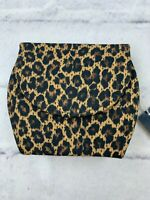 NEW Bakers Women's Camouflage Clutch With Gold Chain Sling Hand Bag OS Brown