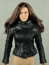 1/6 Phicen, Hot Toys, Kumik, Play Toy, Magic Cube - Female Black Leather Jacket