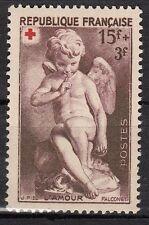 FRANCE  TIMBRE NEUF N° 877 *  CROIX ROUGE l amour par falconet