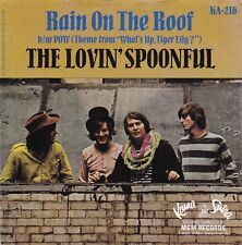 """Lovin' Spoonful """"Rain On The Roof"""" & """"Pow""""  Kama Sutra 216  Record & Picture Slv"""