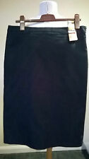 """NEW Marks & Spencer Limited Collection black f/lined skirt UK 16 27"""" L 34"""" W £35"""