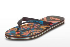 tongs QUIKSILVER noir/orange/bleu - pointure 42 - neuves