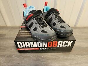 Diamondback Calico Women's Dual Sport Biking Clipless Shoes Cycling SPD 41 US 8