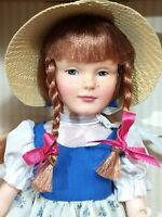 NEW Vtg 1985 Effanbee Becky Thatcher Doll Great Moments in Literature #7633 NRFB