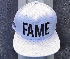Hall Of Fame Skateboard Co. FAME White Mens Snapback Hat