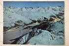 """CPM """" Blick vom Piz Corvatsch auf Silvaplanersee und St Moritz"""