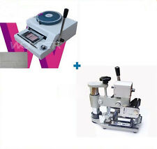 Machine magnetic Embossing ID PVC Card Embosser+Tipper For ID PVC Cards