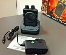 Apollo 2 Ch Sv Vhf Vp200 Pro-1 Voice Pager, with Charger, New In Box