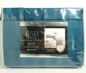 Members Mark Hotel Premier Collection 650 Thread Count Egyptian Cotton Queen Set