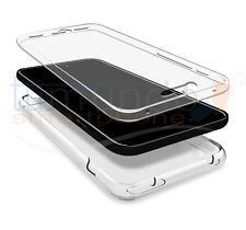FUNDA de GEL TPU COMPLETA TRANSPARENTE FULL BODY 360º para IPHONE 5 / 5S / SE