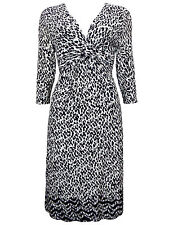 Marks and Spencer Women's 3/4 Sleeve Everyday Wrap Dresses