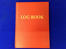 Yacht Boat Marine Sailing log book /  Hardback Record Book of Boating trips