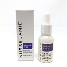 Nurse Jamie Miracle Base Beauty Oil Skincare Travel .5 fl oz New in Box Sealed