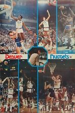 Denver Nuggets Dan Issel 23x35 Collage NBA Poster Bi Rite