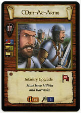 Man At Arms (3) - Age Of Empires ECG CCG Card (C96)