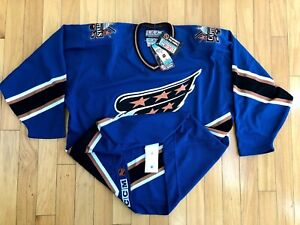 Washington Capitals Blank CCM Brand New Screaming Eagle Sz. 56 Hockey Jersey