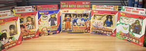 Dragon Ball Z Super Battle Collection Action Figures Bandai In Packaging 1999