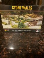 STONE WALLS - BOLT ACTION - WARLORD GAMES - 28MM WWII 1/56 SCALE PLASTIC