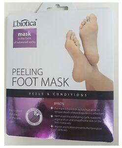 L'biotica  Exfoliating Socks Peeling Mask ( parasoftin )