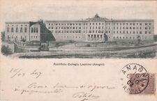 # ANAGNI: PONTIFICIO COLLEGIO LEONINO - 1903