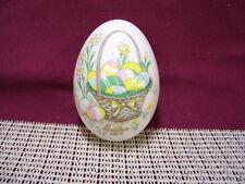 Noritake China Collectible Easter Egg 1974