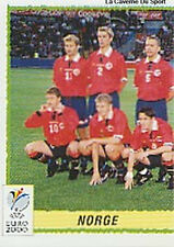 N°234 EQUIPE TEAM 1/2 NORGE NORWAY PANINI EURO 2000 STICKER VIGNETTE