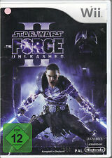 """  Star Wars - The Force Unleashed II "" (Nintendo Wii)"