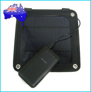 3W Portable Solar Panel Pack+7200mAh Dual USB Power Bank Mobile Charger Battery