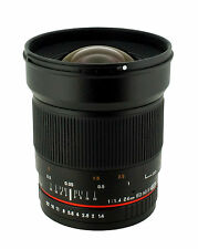 New Samyang 24mm F1.4 Aspherical Wide Angle Lens for Canon EOS